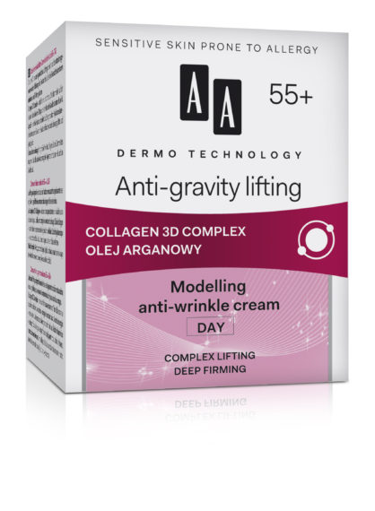 Anti-gravity lifting 55+ modelling anti-wrinkle cream day complex lifting deep firming