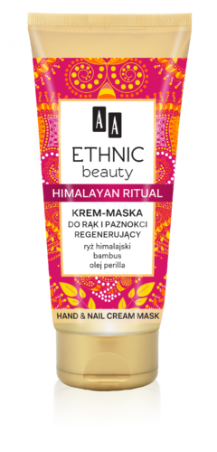 Himalayan ritual, Hand & nails cream mask, 75 ml