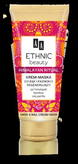 Himalajski Rytuał Krem maska do rąk i paznokci regenerujący 75 ml