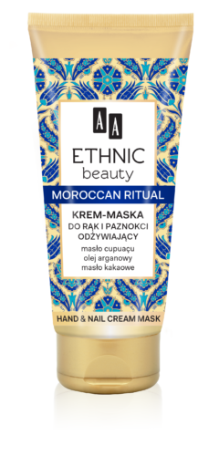 Moroccan ritual, Hand & nails cream mask, 75 ml