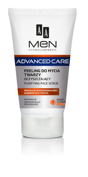 Peeling do mycia twarzy oczyszczający