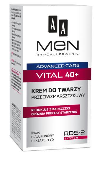 VITAL 40+ Krem do twarzy przeciwzmarszczkowy