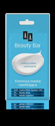 AA BEAUTY BAR Kremowa maska nawilżająca, 8 ml