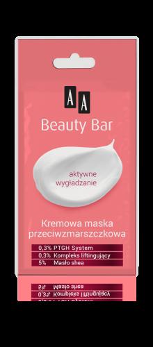 AA BEAUTY BAR Kremowa maska przeciwzmarszczkowa, 8 ml