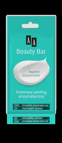 AA BEAUTY BAR Kremowy peeling enzymatyczny, 8 ml