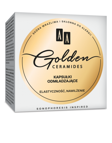 AA Golden Ceramides Beauty pearls, 30 pcs