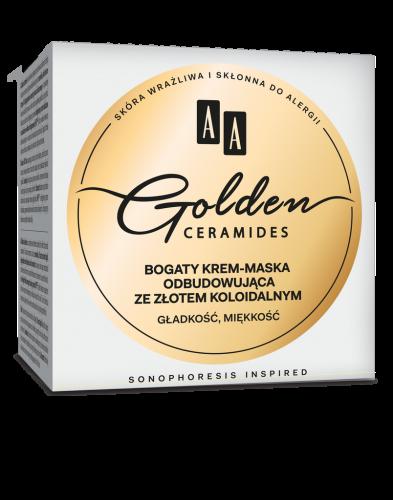 AA GOLDEN CERAMIDES bogaty krem-maska odbudowująca, 50 ml