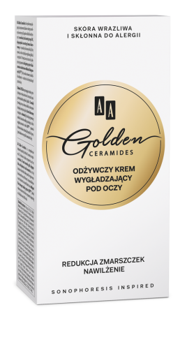 AA Golden Ceramides Conditioning and smoothening eye contour cream, 30 ml