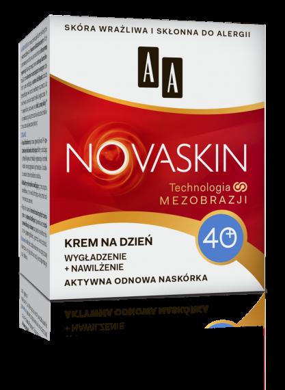 AA NOVASKIN 40+ krem na dzień wygładzenie+nawilżenie, 50 ml
