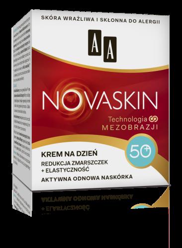 AA NOVASKIN 50+ krem na dzień redukcja zmarszczek+elastyczność, 50 ml