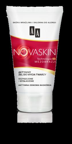AA NOVASKIN żel do mycia twarzy oczyszczenie+wygładzenie, 150 ml