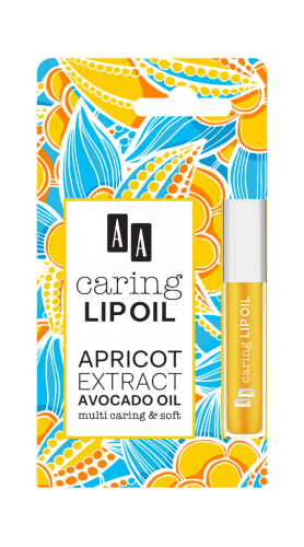 AA CARING LIP OIL Apricot, 6 ml