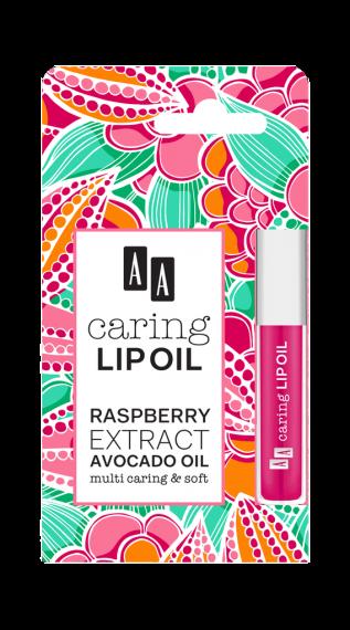 AA CARING LIP OIL Raspberry, 6 ml