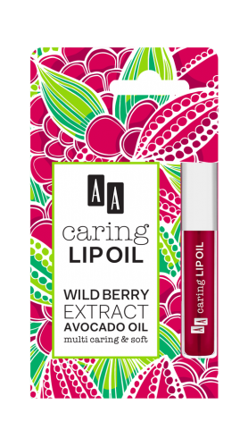 AA CARING LIP OIL Wildberry, 6 ml