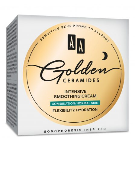 AA Golden Ceramides Intensive smoothing night cream, combination/normal skin, 50 ml