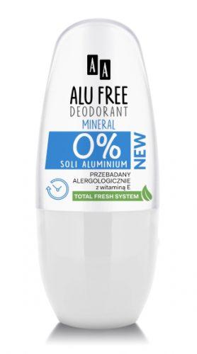 AA DEO ALU FREE Mineral women aluminium salt-free, 50 ml