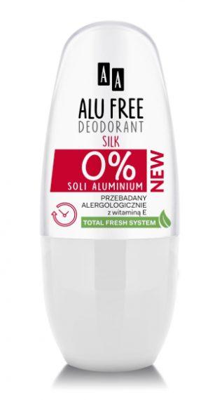 AA DEO ALU FREE Silk women aluminium salt-free, 50 ml