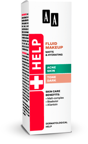 AA Help Fluid makeup matte & hydrating