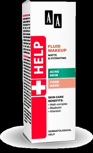 AA Help Fluid makeup matte & hydrating