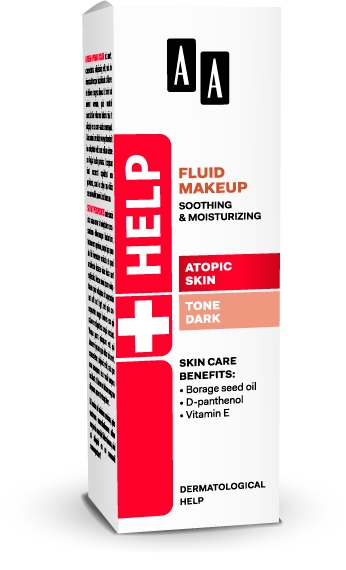 AA Help Atopic Skin Fluid Makeup Soothing And Moisturizing