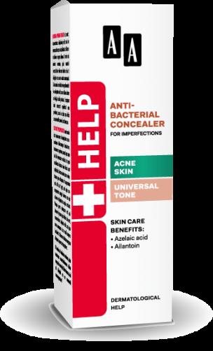AA Help Antibacterial concealer for imperfections