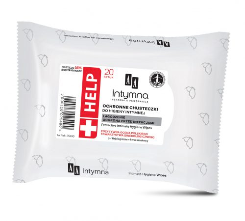 HELP Protecting intimate hygiene wipes