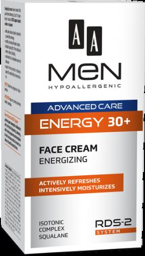 AA MEN ADVANCED CARE ENERGY 30+ Face Cream Energizing 50 ml