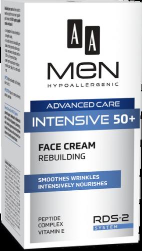 AA MEN ADVANCED CARE INTENSIVE 50+ face cream rebuilding 50 ml