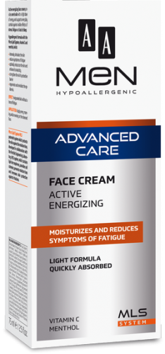 AA MEN ADVANCED CARE Face cream active energizing 75 ml