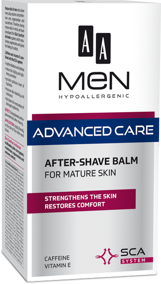 AA MEN ADVANCED CARE After shave balm for mature skin, 100 ml