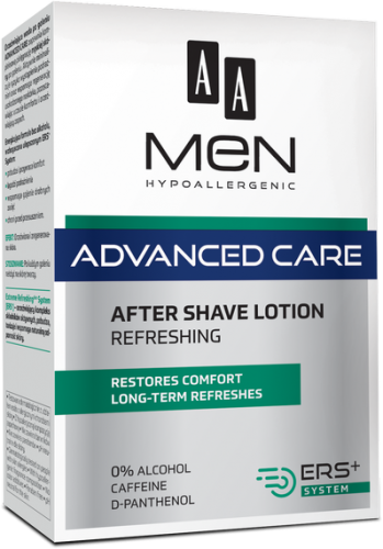 AA MEN ADVANCED CARE After shave lotion, refreshing, 100 ml