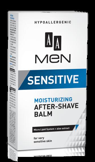 AA MEN SENSITIVE Moisturizing after-shave balm, 100 ml
