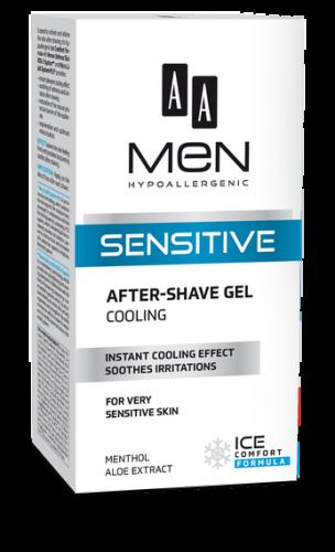 AA MEN SENSITIVE Cooling after-shave gel 100 ml