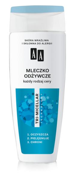 AA Mleczko odżywcze, każdy rodzaj cery, 200 ml