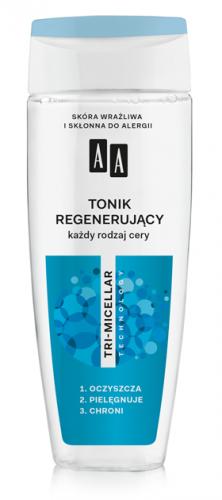 AA Tonik regenerujący, każdy rodzaj cery, 200 ml