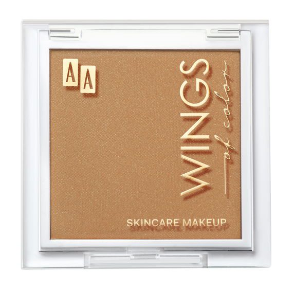 AA WINGS OF COLOR BRONZER SHIMMERING 40 SOFT TAN
