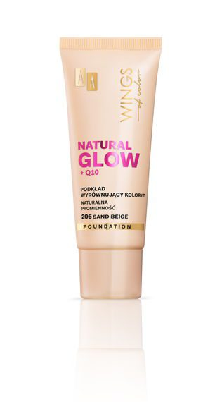 AA WINGS OF COLOR PODKŁAD NATURAL GLOW 206 30ML