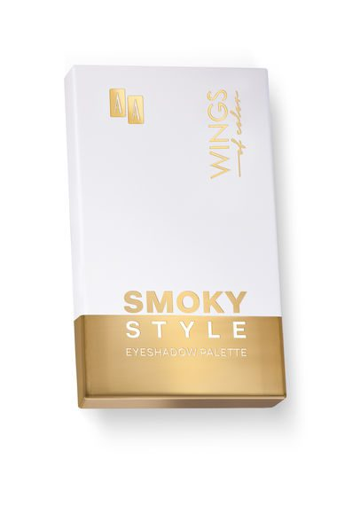 AA WINGS OF COLOR CIEŃ DO POWIEK PALETTE 81 SMOKY