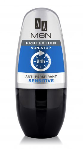 AA Men Protection Non-Stop Anti-Perspirant Sensitive, 50 ml