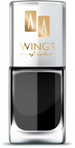 AA WINGS OF COLOR Oil Therapy Nail Lacquer 1 Black Orchid 11ml