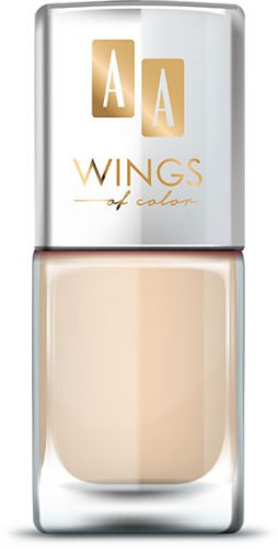 AA WINGS OF COLOR Oil Therapy Nail Lacquer 10 Cotton Flower 11ml