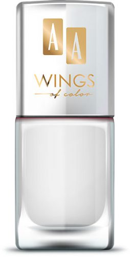 AA WINGS OF COLOR Oil Therapy Nail Lacquer 11 White Jasmin 11ml
