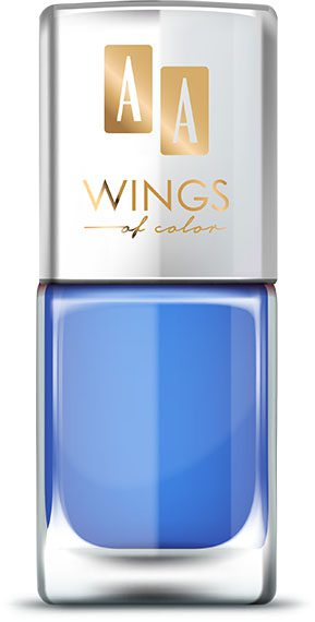 AA WINGS OF COLOR Oil Therapy Nail Lacquer 12 Blue Iris 11ml