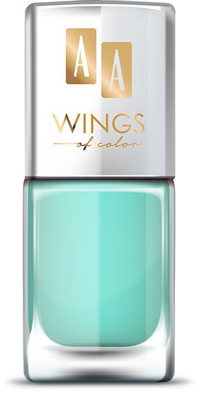 AA WINGS OF COLOR Oil Therapy Nail Lacquer 13 Apple Mint 11ml