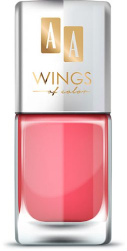 AA WINGS OF COLOR Oil Therapy Nail Lacquer 14 Dreamy Coral 11ml