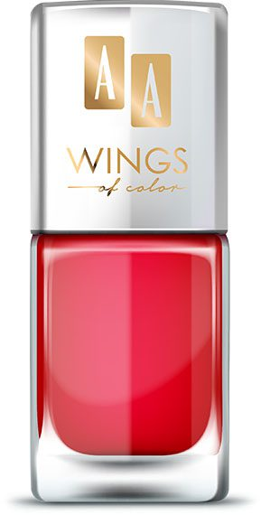 AA WINGS OF COLOR Oil Therapy Nail Lacquer 15 Cute&Juicy  11ml