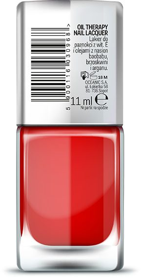 AA WINGS OF COLOR Oil Therapy Nail Lacquer 16 Russian Rose 11ml