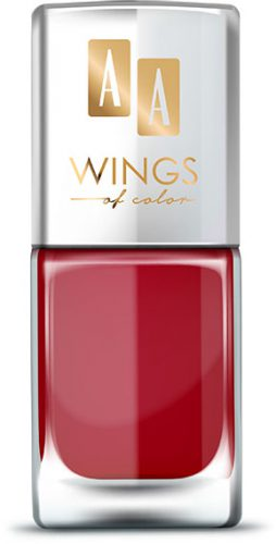 AA WINGS OF COLOR Oil Therapy Nail Lacquer 17 Cherry Lady 11ml