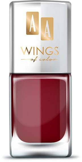 AA WINGS OF COLOR Oil Therapy Nail Lacquer 18 Sweet Grenadine 11ml