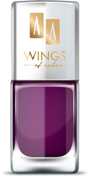 AA WINGS OF COLOR Oil Therapy Nail Lacquer 19 Purple Peony 11ml